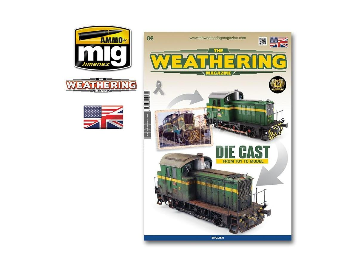 AMMO BY MIG JIMENEZ THE WEATHERING MAG 23 DIE CAST FROM TOY. RIVISTA