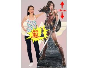 STAR WONDER WOMAN ARTWORK CUTOUT Sagomato Lifesize