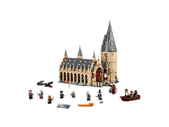 LEGO HARRY POTTER 75954 - LA SALA GRANDE DI HOGWARTS
