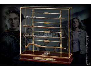 Display e bacchette Torneo 3 Maghi - Harry Potter Noble Collection