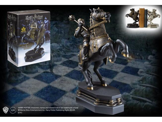 Fermalibri Statua / Pedina Cavaliere Nero Harry Potter Noble Collection
