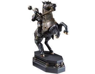 Harry Potter  Fermalibri Statua / Pedina Cavaliere Nero  Noble Collection