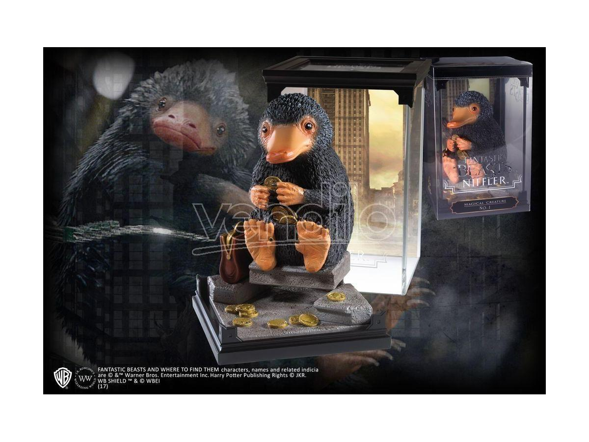 Creatura Magica Statua Snaso Niffler Animali Fantastici 18 cm Noble Collection