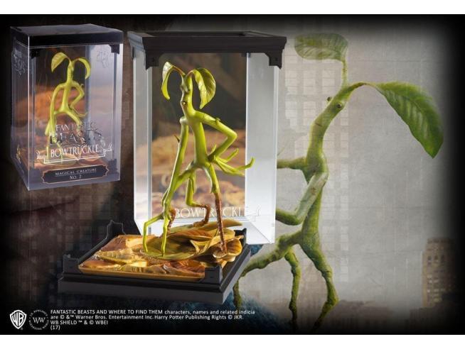 Creature Magiche Statua Bowtruckle Animali Fantastici 18 cm Noble Collection