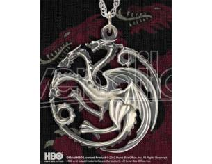 Ciondolo Pendente Targaryen Game of Thrones Noble Collection