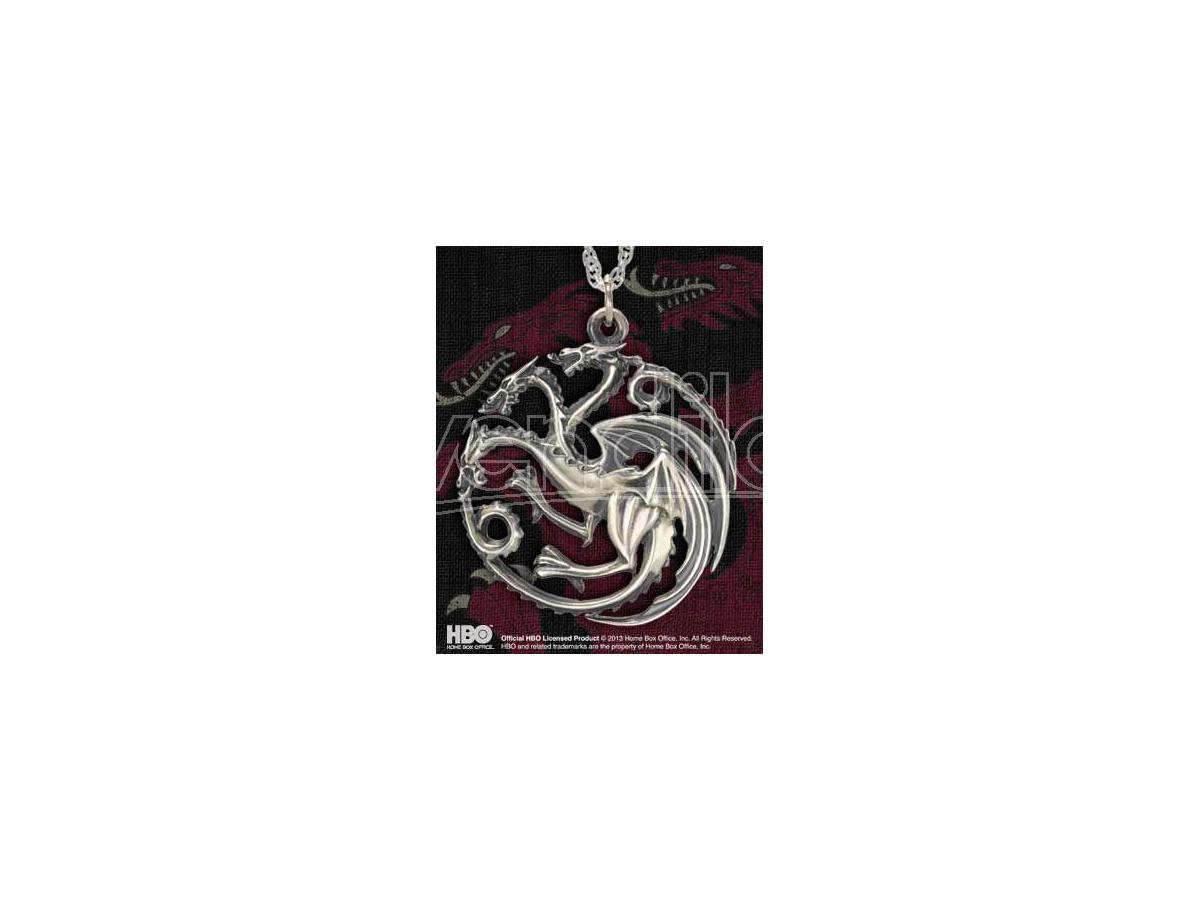 Ciondolo Pendente Targaryen Game of Thrones Noble Collection