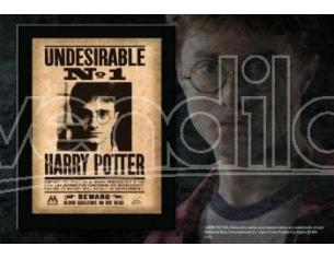 "Harry Potter  Targa / Placca ""indesiderabile N. 1"" Collezione  Noble Collection"