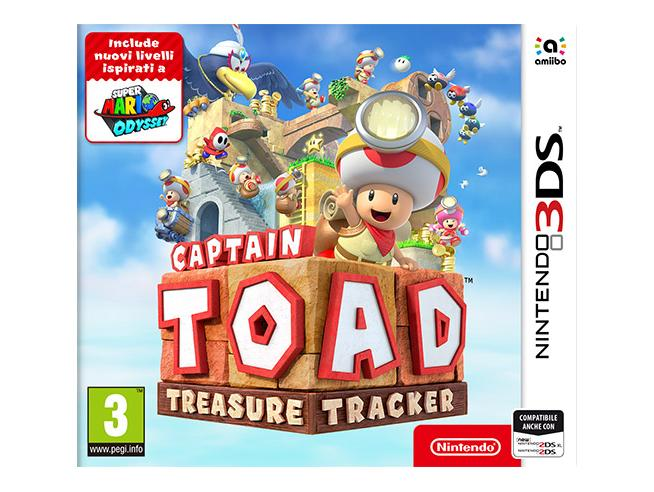 CAPTAIN TOAD: TREASURE TRACKER PLATFORM - NINTENDO 3DS