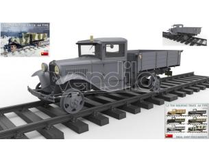 Miniart MIN35265 TRUCK AA TYPE 1,5 TON RAILROAD KIT 1:35 Modellino
