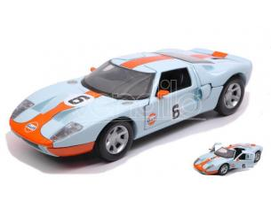 Motormax MTM79641 FORD GT CONCEPT 2004 GULF SERIES 1:24 Modellino