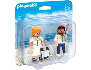 PLAYMOBIL 9216 - COMANDANTE E HOSTESS NAVE