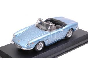 Best Model BT9714 FERRARI 330 GTS 1967 LIGHT BLUE METALLIC 1:43 Modellino