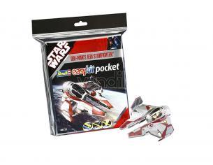 Star Wars Obi Wan's Jedi Starfighter Easy Kit 1/58 10 cm Revell
