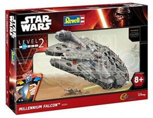 MODELLINO MILLENNIUM FALCON Star Wars Episodio VII EasyKit Model Kit 37 cm