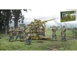 Italeri IT15771 FLAK 37 8,8 cm WITH CREW KIT 1:56 Modellino