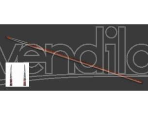 Italeri IT52281 PENNELLO SINTETICO TONDO 0/10 Pz.6 Modellino