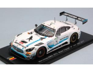 Spark Model SB145 MERCEDES GT3 N.4 8th 24H SPA 2017 STOLZ-CHRISTODOULOU-BUURMAN 1:43 Modellino