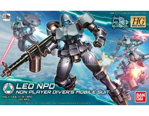 BANDAI MODEL KIT HGBD LEO NPD 1/144 MODEL KIT