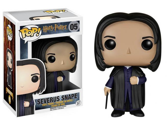 Funko Harry Potter POP Movies Vinile Figura Severus Piton 9 cm