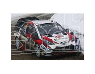 Spark Model S5959 TOYOTA YARIS WRC N.9 7th MONTE CARLO 2018 E.LAPPI-J.FERM 1:43 Modellino