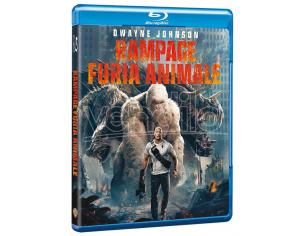 RAMPAGE - FURIA ANIMALE AZIONE BLU-RAY