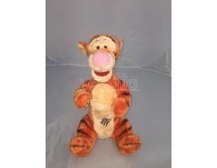 Disney Winnie The Pooh - Tigro Peluche Pancia a righe 25cm