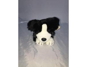 Maricart - Cane Nero e Bianco Peluche 30 cm