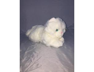 Maricart - Gatto Bianco Peluche 30 cm