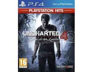 UNCHARTED 4: FINE DI UN LADRO PS HITS AZIONE AVVENTURA - PLAYSTATION 4