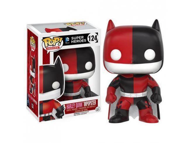 Funko Super Heroes POP DC Comics Batman come Harley Quinn Impopster 9 cm