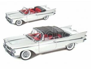 Hot Wheels LDC20138W CHRYSLER IMPERIAL CROWN 1961 WHITE 1:18 Modellino