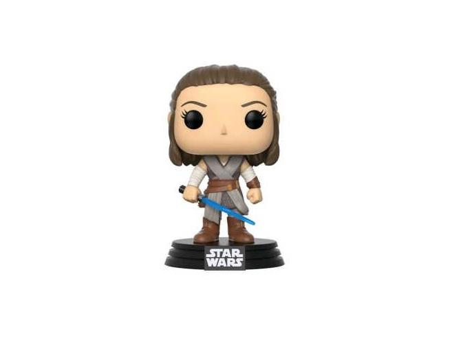 Funko Star Wars Gli Ultimi Jedi POP Movies Vinile Figura Rey 9 cm
