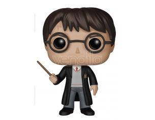 Harry Potter Funko Pop Movies Vinile Figura Harry Con Bacchetta 10 Cm