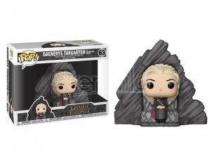 Game of Thrones Funko POP Serie TV Vinile Figura Daenerys sul Trono 15 cm