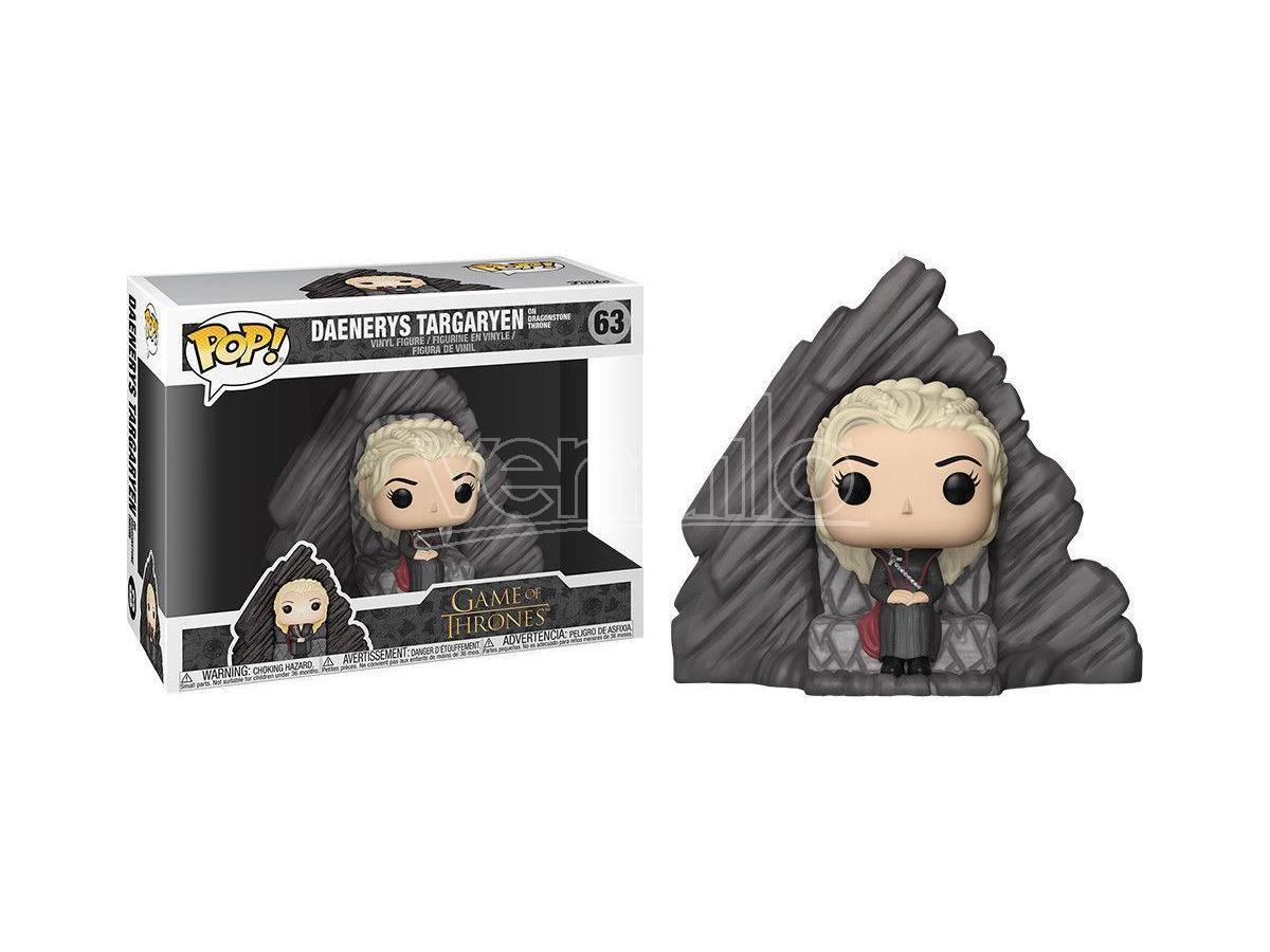 Funko Game of Thrones POP Serie TV Vinile Figura Daenerys sul Trono 15 cm