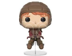 Harry Potter  Funko  Pop Movies Vinile Figura Ron Sulla Scopa Di Quidditch 9 Cm