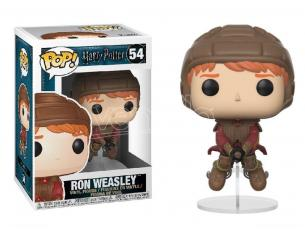 Funko Harry Potter POP Movies Vinile Figura Ron sulla Scopa di Quidditch 9 cm