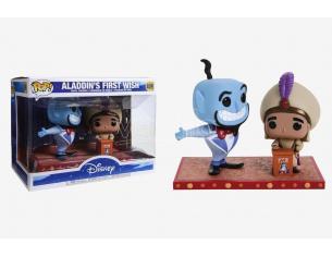 Funko Aladdin POP Disney Vinile Figura Aladdin e Genio 18 cm