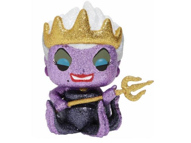 Funko La Sirenetta POP Disney Ursula Glitter 9 cm Esclusiva Scatola Rovinata