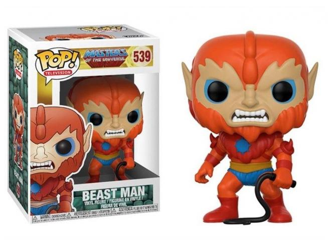 Funko Masters of the Universe POP Television Vinile Figura Beast Man 9 cm