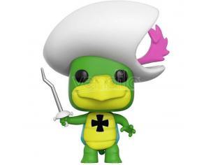 Funko Hanna-Barbera POP Animation Vinile Figura Touche Turtle 9 cm CHASE