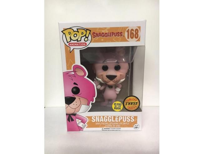 Funko Hanna-Barbera POP Animation Vinile Snagglepuss Luminoso 9 cm CHASE Damage