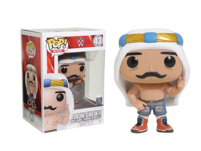 Funko Wrestling POP WWE Vinile Figura Iron Sheik 9 cm con Bollino