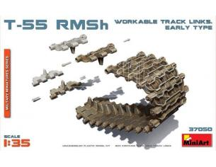 Miniart MIN37050 T-55 RMSh WORKABLE TRACK LINKS EARLY TYPE KIT 1:35 Modellino