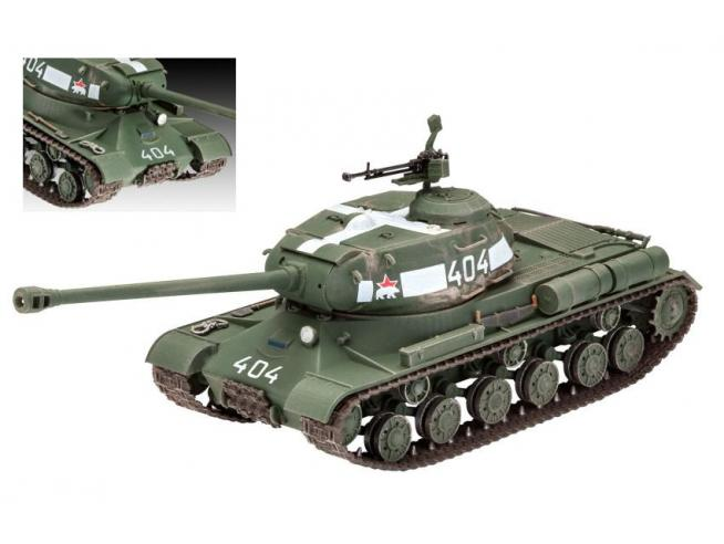 Revell RV03269 SOVIET HEAVY TANK IS-2 KIT 1:72 Modellino