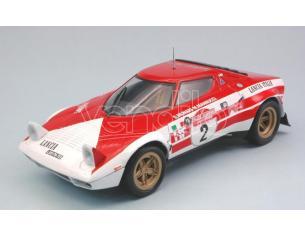 Triple 9 T9-1800175 LANCIA STRATOS N.2 WINNER SANREMO RALLY 1974 S.MUNARI-M.MANNUCCI 1:18 Modellino