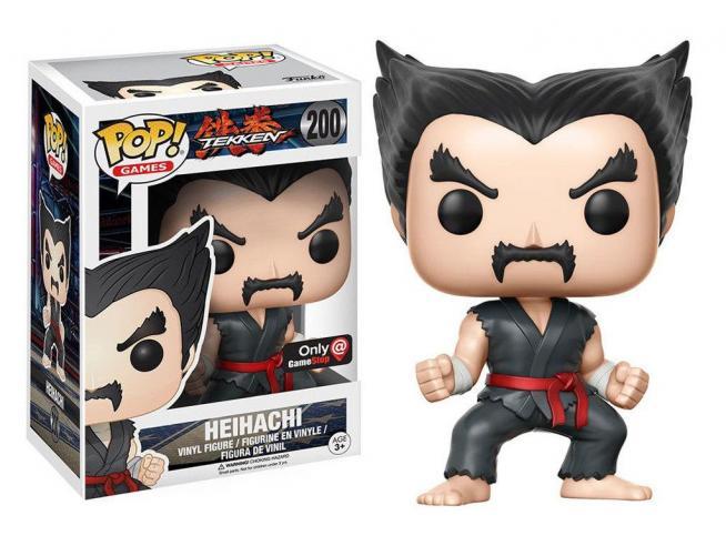 Funko Tekken POP Games Vinile Figura Heihachi 9 cm con Bollino