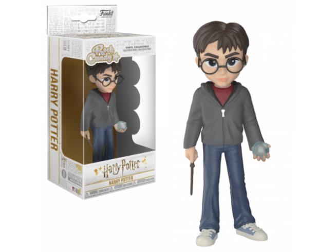 Funko Harry Potter POP Rock Candy Vinile Figura Harry con Profezia 15 cm