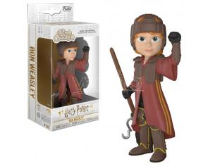 Harry Potter Funko Pop Rock Candy Vinile Figura Ron Quidditch 15 Cm