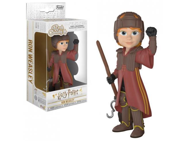 Harry Potter Funko POP Rock Candy Vinile Figura Ron Quidditch 15 cm